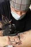 tattoo ноги Стоковые Фото