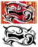 tattoo плаката Стоковое Изображение