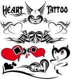 tattoo сердца Стоковое Изображение RF