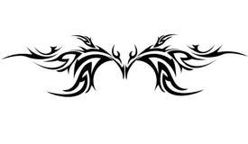 tattoo соплеменный Стоковое Фото