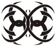 Tattoo спайдера вектора соплеменный Стоковые Фотографии RF