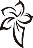 tattoo цветка Стоковые Фотографии RF