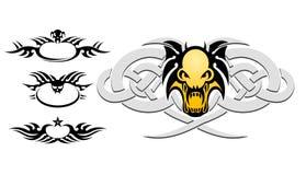 tattoo черепа Стоковое Изображение