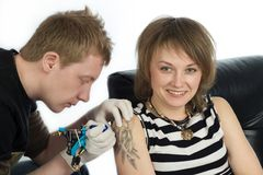 Tattoo Stock Image