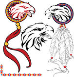 Tattoo. The complete set of colour vector sketches for tattoo Stock Photo