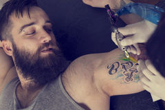 Tattoo art Royalty Free Stock Photos
