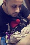 Tattoo artist Royalty Free Stock Photos