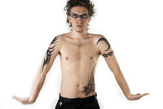 Tattoo Boy Stock Photos