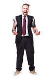 Tattoo Businessman 4 Stock Photography