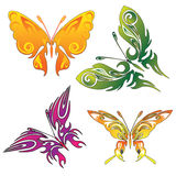 Tattoo butterflies Royalty Free Stock Photography