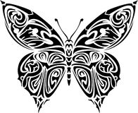Tattoo butterfly. Illustration of butterfly, perfect as tattoo or for other design Vector Illustration