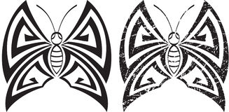 Tattoo Butterfly Design Royalty Free Stock Image