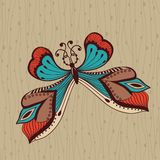 Tattoo butterfly Royalty Free Stock Image