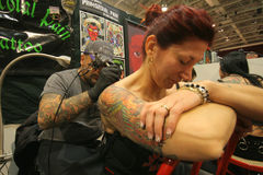 Tattoo convention Stock Image