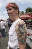 Tattoo culture Stock Photography