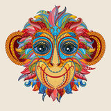 Monkey abstract color stock vector image 48926663 for Year of the monkey tattoo