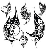 Tattoo design elements Stock Photography