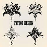 Tattoo Design Elements Royalty Free Stock Image