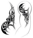 Tattoo designed for a shoulder Royalty Free Stock Images