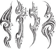 Tattoo Doodles Vector Stock Images