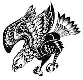 Tattoo Eagle Stock Photo