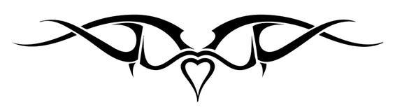 Tattoo - Editable Royalty Free Stock Image