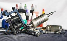 Tattoo equipment stock photo