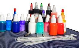 Tattoo equipment Royalty Free Stock Photo