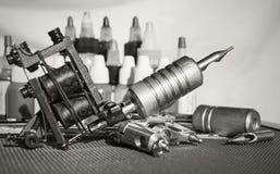 Tattoo equipment Stock Photography