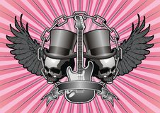 Tattoo Flyer Design. Royalty Free Stock Image