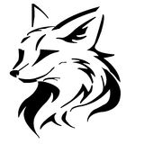Tattoo fox Stock Image