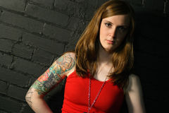 Tattoo Girl Stock Photos