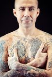 Tattoo guy Royalty Free Stock Photo