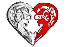 Tattoo heart Stock Photography