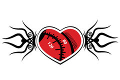 Tattoo heart Royalty Free Stock Images
