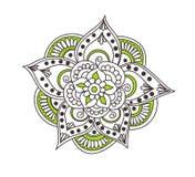 Tattoo henna element Royalty Free Stock Photography