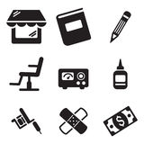 Tattoo Icons Stock Photography