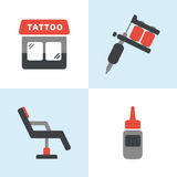 Tattoo Icons Royalty Free Stock Photos