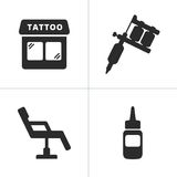 Tattoo Icons Royalty Free Stock Images