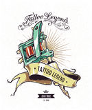 Tattoo Legend Poster Stock Photos