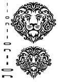Tattoo - lion Royalty Free Stock Photos