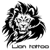 Tattoo - lion Stock Photography
