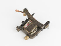 Tattoo machine ( gun ). Tattoo machine ( gun ) and needle - Stock Image macro stock photography
