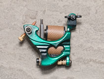 Tattoo machine ( gun ). Stock Photo
