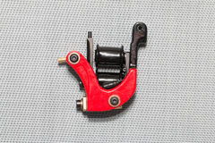 Tattoo machine ( gun ). The unique professional tattoo machine ( gun stock photography