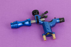 Tattoo machine ( gun ). The unique professional tattoo machine ( gun ) - Stock Image macro royalty free stock photos