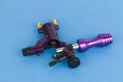 Tattoo machine ( gun ). The unique professional tattoo machine ( gun ) - Stock Image macro stock images