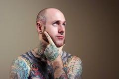 Tattoo man Royalty Free Stock Image
