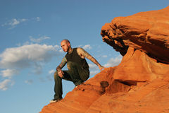 Tattoo man Stock Images