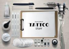Tattoo mock up Royalty Free Stock Image